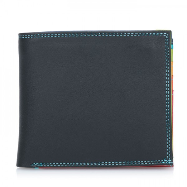 Classic Wallet w/Zip Section Black Pace
