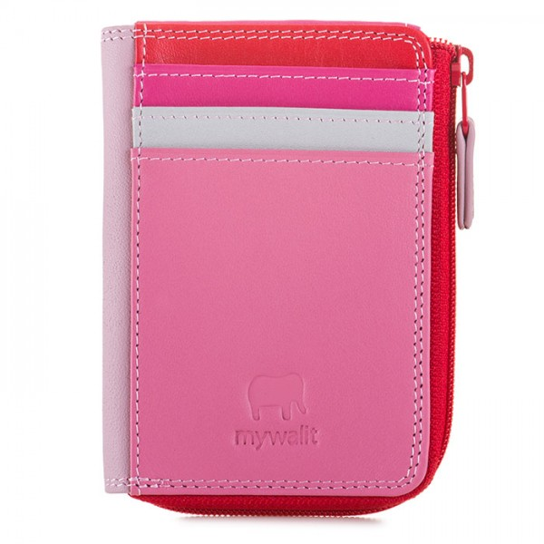 Small Zip Purse Ruby