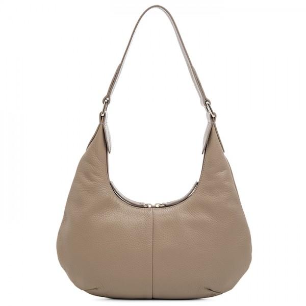 Bergamo Small Shoulder Bag Stone