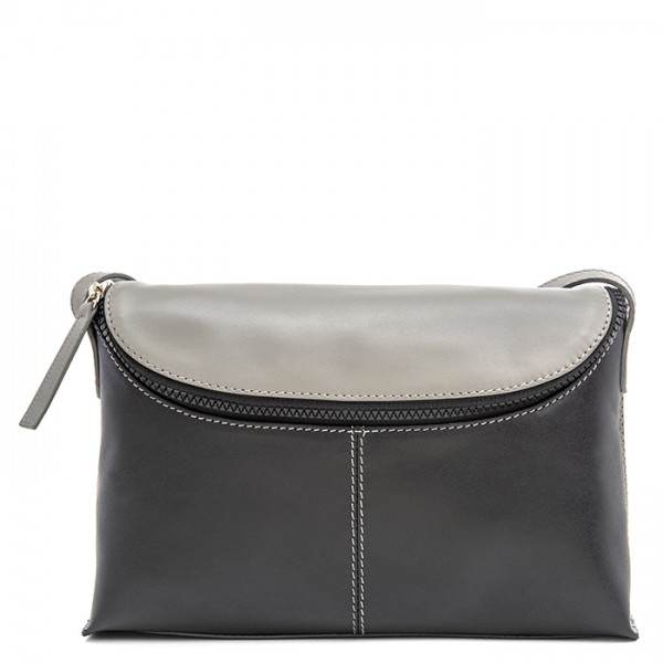 Catania Medium Cross Body Black