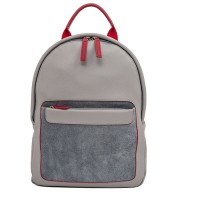 Havana Small Leather Backpack Storm