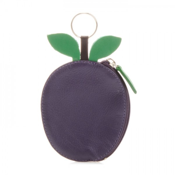 Fruits Plum Purse Purple