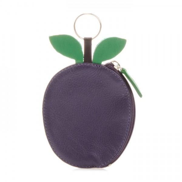Porte-monnaie prune Violet