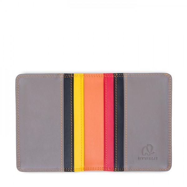 Credit Card Holder w/Plastic Inserts Fumo