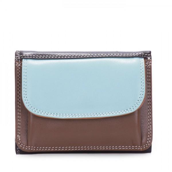 Mini Tri-fold Wallet Mocha