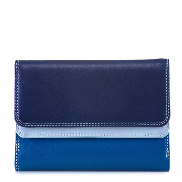 Double Flap Purse/Wallet Denim