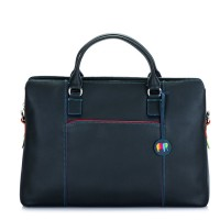 Business Briefcase Black Pace