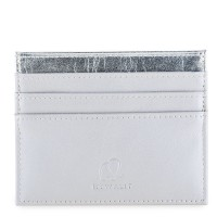 Double Sided Credit Card Holder Silver
