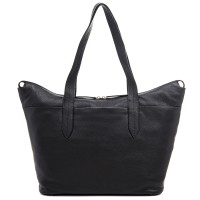Bergamo Large Shoulder Bag Black