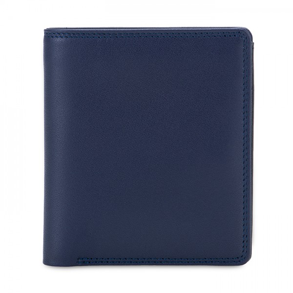 RFID Men's Bi-fold with Pull Out Tab Nappa Notte