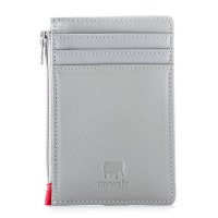RFID Credit Card Holder with Coin Purse Grey