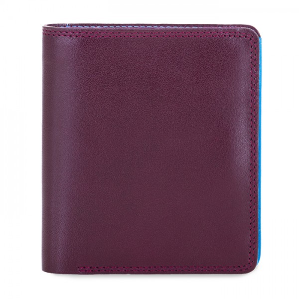 Men's Bi-fold with Pull Out Tab Plum-Caribbean