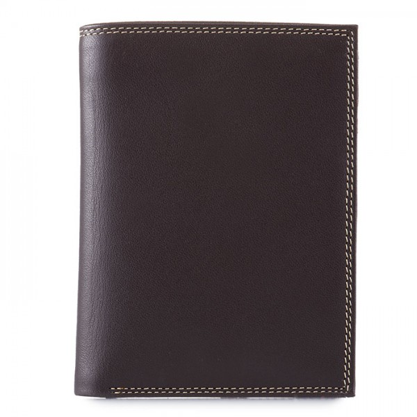 Men's Wallet w/Zip Section Safari Multi