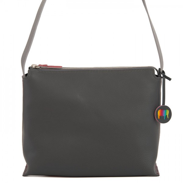 Ancona Leather Cross Body Storm