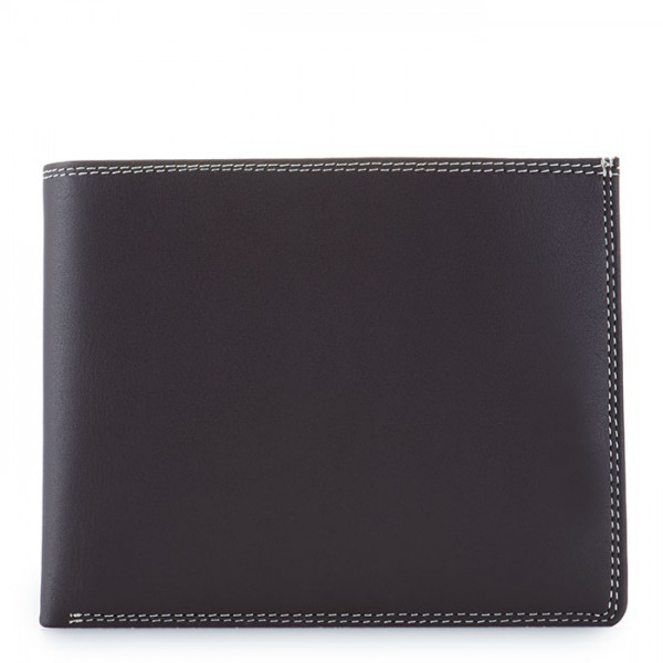RFID Large Men's Wallet w/Britelite Mocha