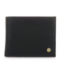 Panama Wallet with Inner Leaf Black