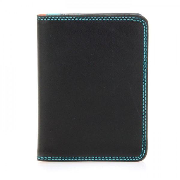 Porta carte di credito con inserti in plastica Black Pace