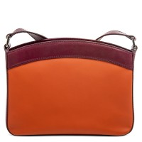 Siracusa Medium Shoulder Bag Chianti
