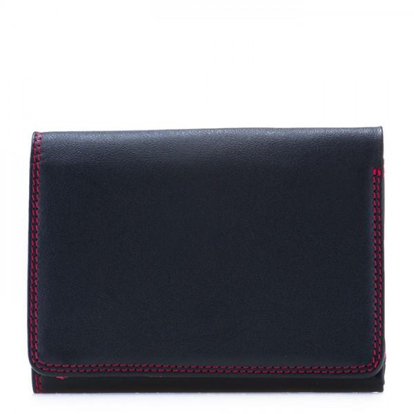 RFID Small Tri-fold Wallet Black