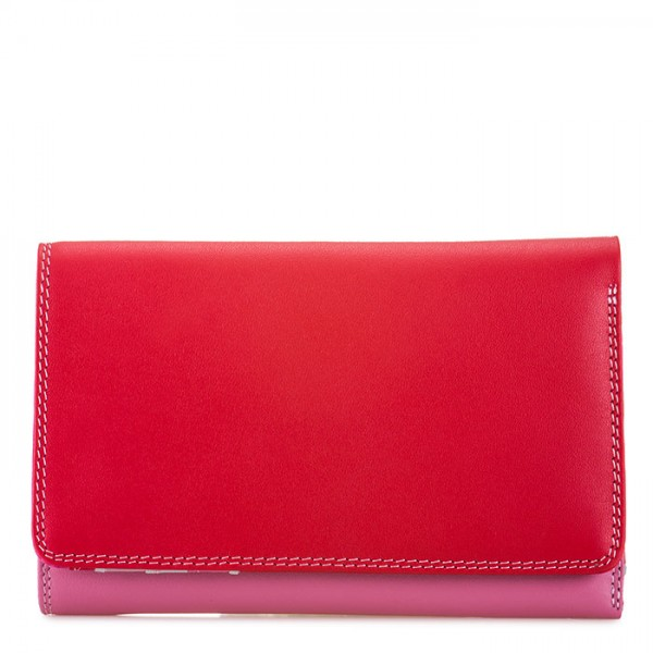 Cartera mediana de tres pliegues Ruby