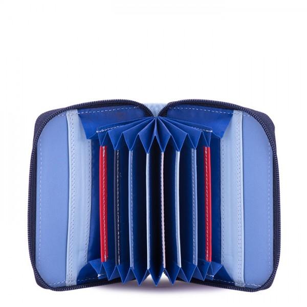 RFID Zipped Credit Card Holder Royal