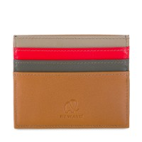 Double Sided Credit Card Holder Caramel