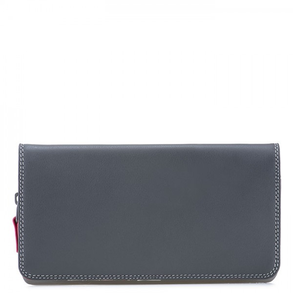 Flapover Wallet with Coin Section Storm