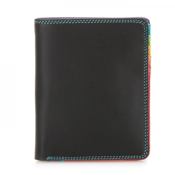 Medium Slim Wallet Black Pace