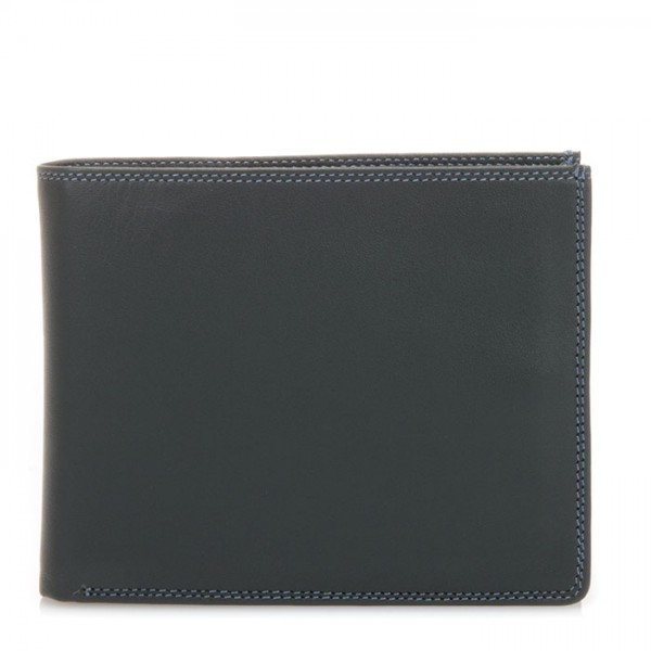 Large Men's Wallet w/Britelite Smokey Grey