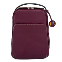 Office Small Leather Cross Body Sling Chianti