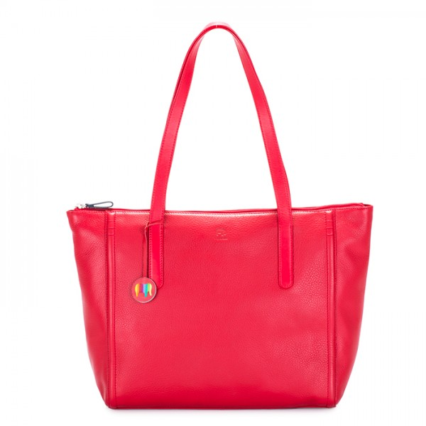 Vienna Large Tote Red