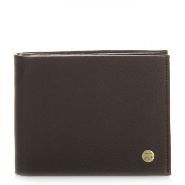 Panama Wallet with Inner Leaf Brown