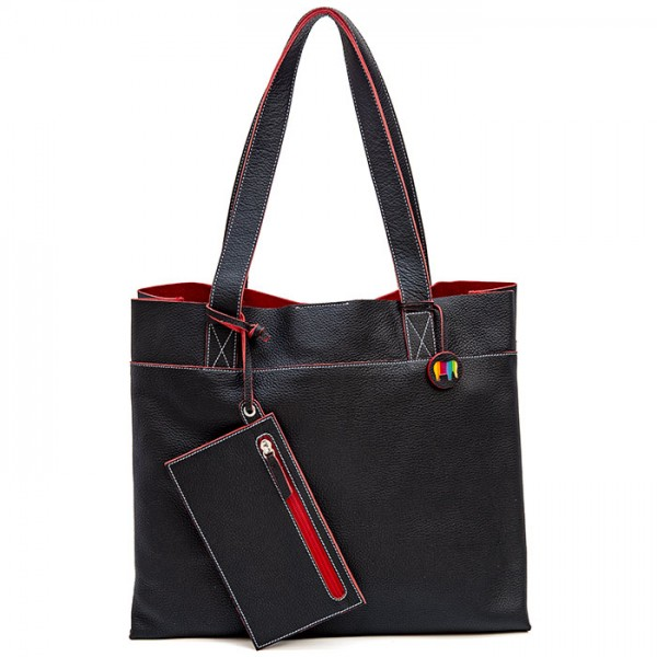 00b07fab0 Vancouver Large Leather Tote Black | New Bags | New | The Official Site for  MYWALIT Bags, Wallets and Accessories