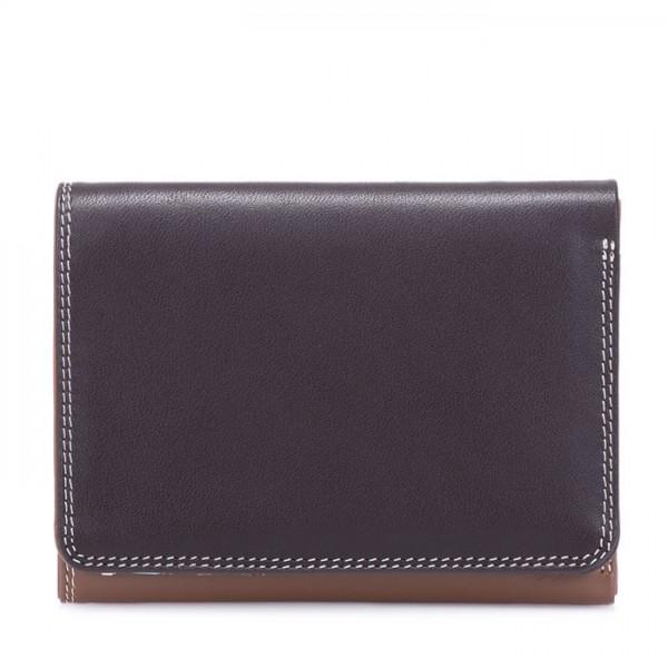 Small Tri-fold Wallet Mocha
