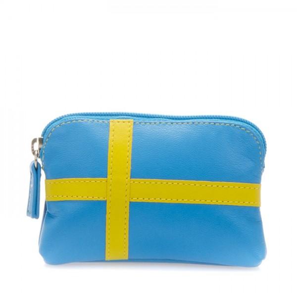 Portamonete con bandiera Svezia